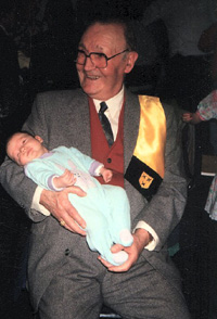 oudste en jongste Vanautgaerden in 1990
