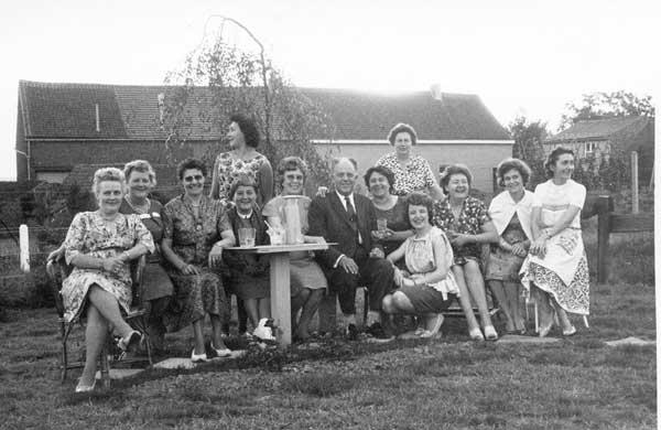 Nazomer 1962 te Ottenburg