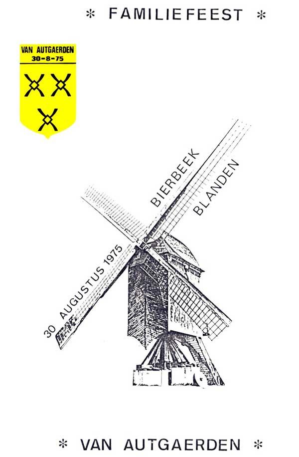 voorpagina van de brochure uit 1975