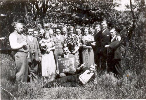 Toneelkring Hand in Hand in 1936-38