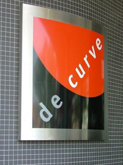 het logo van De Curve